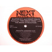 """Master O.C. & Krazy Eddie Featuring """"The Great Peso"""" And The Main Attraction - Private Lessons, 12"""""""