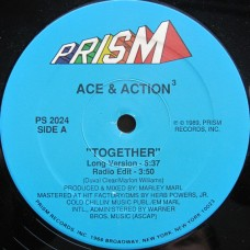Ace & Action³ - Together / Letter To The Better, 12""