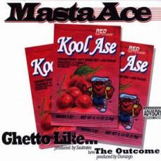 "Masta Ace - Ghetto Like... / The Outcome, 12"""