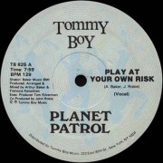 Planet Patrol - Play At Your Own Risk, 12""