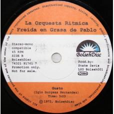 "Malk De Koijn (La Orquesta Ritmica Freida En Grasa De Pablo) - Gusto / Los Salvajes, 7"""