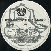 "Puff Daddy & The Family - It's All About The Benjamins, 12"", Promo"