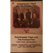 Grandmaster Flash & The Furious Five - Greatest Message's, Cassette