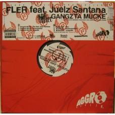 """Fler feat. Juelz Santana - Gangzta Mucke, 12"""""""