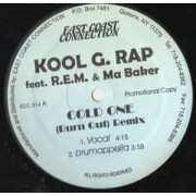 "Kool G Rap - Cold One ( Burn Out ) Remix, 12"", Promo"