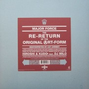 Major Force - The Re-Return Of The Original Art-Form (Reinterpreted By Cut Chemist), 12""