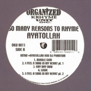 Ayatollah - So Many Reasons To Rhyme, 2xLP