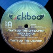 Ackboo Feat. M8cky Banton - Turn Up The Amplifier, 12""