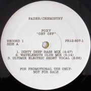 """Foxy / Peter Brown - Get Off / Dance With Me, 2x12"""", Promo"""