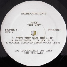 "Foxy / Peter Brown - Get Off / Dance With Me, 2x12"", Promo"