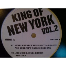 Various - King Of New York Vol. 2, 12""