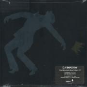 """DJ Shadow - The Mountain Has Fallen EP, 12"""", EP"""