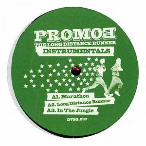 Promoe - The Long Distance Runner Instrumentals, 2xLP