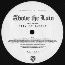 """Above The Law Featuring Frost - City Of Angels, 12"""", Promo"""