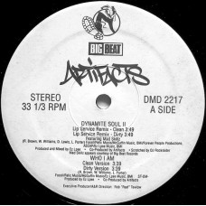"Artifacts - Dynamite Soul II / Who I Am, 12"", Promo"