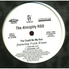 """The Almighty RSO - You Could Be My Boo, 12"""", Promo"""