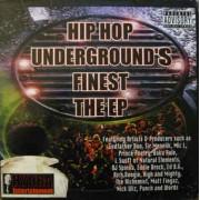 """Various - Hip Hop Underground's Finest, 2x12"""", EP"""