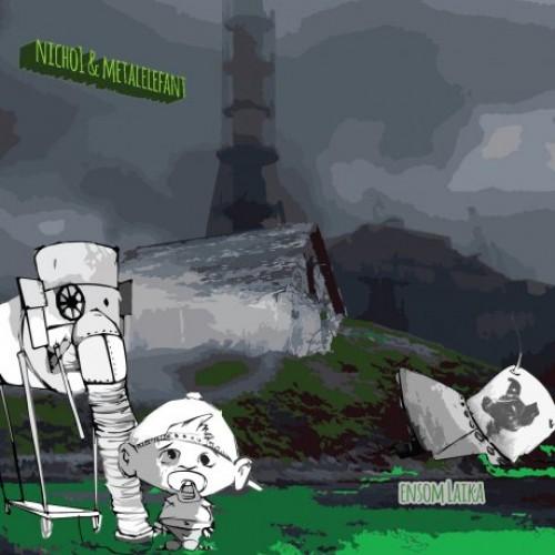 Nicho1 & Metalelefant - Ensom Laika, LP