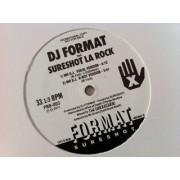 "DJ Format Feat. Sureshot La Rock - Mr D.J., 12"", Promo"