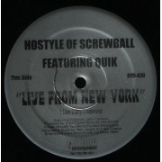 """Hostyle / Godfather Don - Live From New York / 3 The Hard Way, 12"""""""