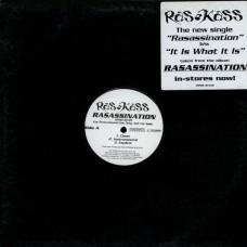 "Ras Kass - Rasassination / It Is What It Is, 12"", Promo"