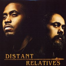 Nas & Damian Marley - Distant Relatives, 2xLP, Repress