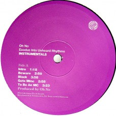 Oh No - Exodus Into Unheard Rhythms Instrumentals, 2xLP