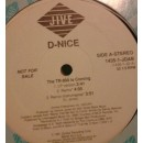 """D-Nice - The TR 808 Is Coming, 12"""", Promo"""