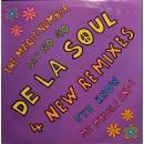 """De La Soul - 4 New Remixes, 12"""""""