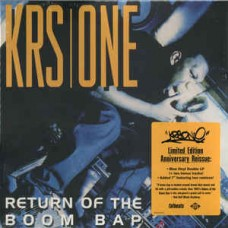KRS-One - Return Of The Boom Bap, 2xLP, Reissue + 7""