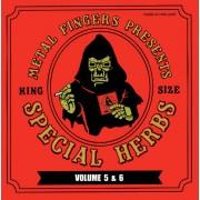 "Metal Fingers - Special Herbs Volume 5 & 6, 2xLP+7"", Reissue"
