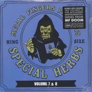 "Metal Fingers - Special Herbs Volume 7 & 8, 2xLP+7"", Reissue"