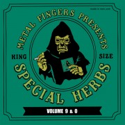 "Metal Fingers - Special Herbs Volume 9 & 0, 2xLP+7"", Reissue"