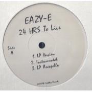 """Eazy-E - 24 Hours To Live, 12"""", Promo"""