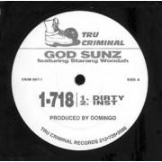 "God Sunz - 1-718, 12"""