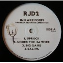 RJD2 - In Rare Form - Unreleased Instrumentals, 2xLP