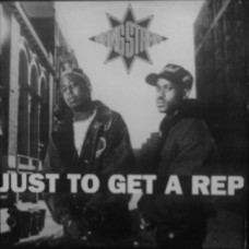 "Gang Starr - Just To Get A Rep, 12"", Reissue"