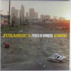 Jurassic 5 - Power In Numbers Instrumentals, 2xLP
