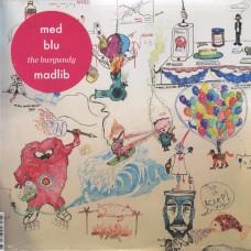 "MED + Blu - The Burgundy, 12"", EP"
