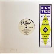 "King Tee - Played Like A Piano, 12"", Promo"
