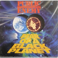 Public Enemy - Fear Of A Black Planet, LP
