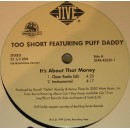 """Too Short - It's About That Money, 12"""", Promo"""