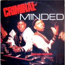 Boogie Down Productions - Criminal Minded, LP
