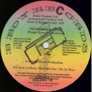 """Boogie Down Productions - The Bridge Is Over / A Word From Our Sponsor, 12"""""""