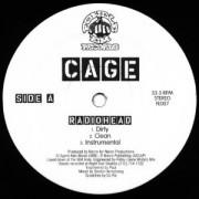 "Cage - Radiohead, 12"""