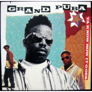 "Grand Puba - Ya Know How It Goes / Lickshot, 12"""