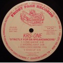 KRS-One - Strictly For Da Breakdancers, LP