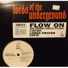 Lords Of The Underground - Flow On (New Symphony), 12""