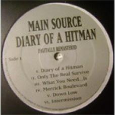 Main Source - Diary Of A Hitman, LP, Remastered
