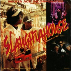 Masta Ace Incorporated Starring: MC Negro & The Ignorant MC - Slaughtahouse, 12""